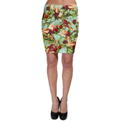 Fruit Blossom Bodycon Skirt