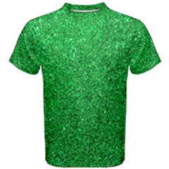 Green Glitter Men s Cotton Tee