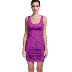 Pink  Glitter Bodycon Dress