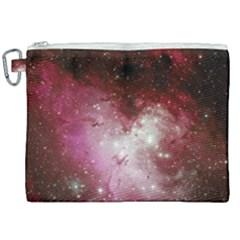 Nebula Red Canvas Cosmetic Bag (xxl) by snowwhitegirl