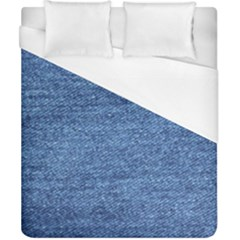 Blue Denim Duvet Cover (california King Size)