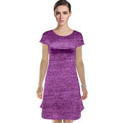 Purple Denim Cap Sleeve Nightdress