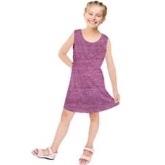 Pink  Denim Kids  Tunic Dress