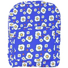 Eggs Blue Full Print Backpack