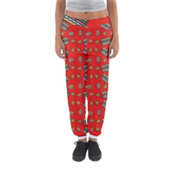 Fast Food Red Women s Jogger Sweatpants