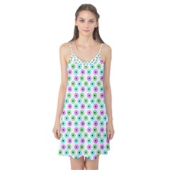 Eye Dots Green Violet Camis Nightgown