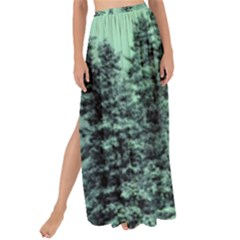 Winter Trees Maxi Chiffon Tie Up Sarong