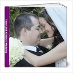 Wedding photobook for Terry and kristin - 8x8 Photo Book (20 pages)