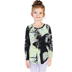 Mint Wall Kids  Long Sleeve Tee by snowwhitegirl