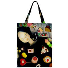 Food Zipper Classic Tote Bag