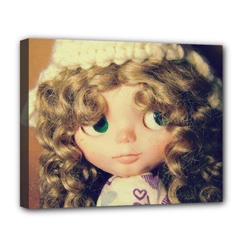 Cute Doll Deluxe Canvas 20  X 16