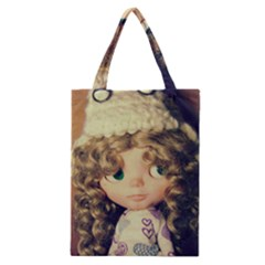 Cute Doll Classic Tote Bag by snowwhitegirl