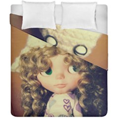 Cute Doll Duvet Cover Double Side (california King Size)