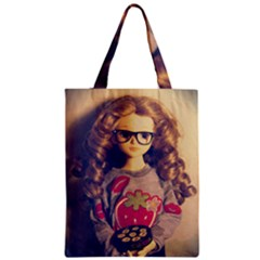 Eating Sushi Zipper Classic Tote Bag