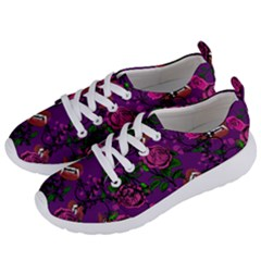 Purple  Rose Vampire Women s Lightweight Sports Shoes by snowwhitegirl