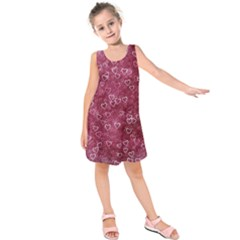 Heart Pattern Kids  Sleeveless Dress