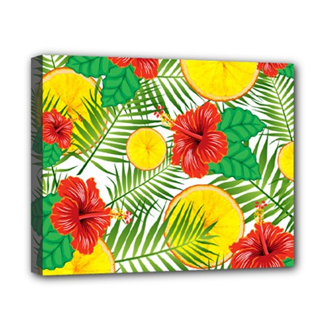 Orange Tropics Canvas 10  X 8  by snowwhitegirl