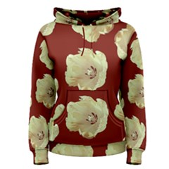Red Tulips Women s Pullover Hoodie