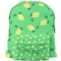 Lemons Green Giant Full Print Backpack
