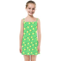 Lemons Green Kids Summer Sun Dress