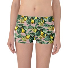 Fruit Branches Reversible Boyleg Bikini Bottoms