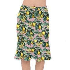 Fruit Branches Mermaid Skirt