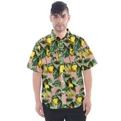 Fruit Branches Men s Short Sleeve Shirt