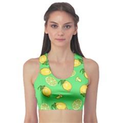 Lemons And Limes Sports Bra