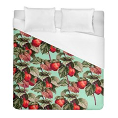 Fruit Branches Green Duvet Cover (full/ Double Size)