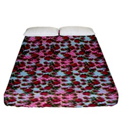 Lazy Cat Ombre Pattern Fitted Sheet (king Size)