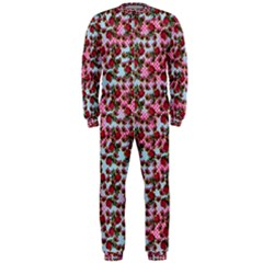 Lazy Cat Ombre Pattern Onepiece Jumpsuit (men)