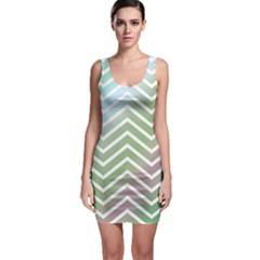 Ombre Zigzag 02 Bodycon Dress