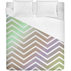 Ombre Zigzag 03 Duvet Cover (california King Size)