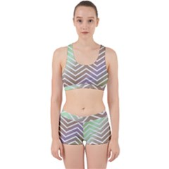 Ombre Zigzag 03 Work It Out Gym Set