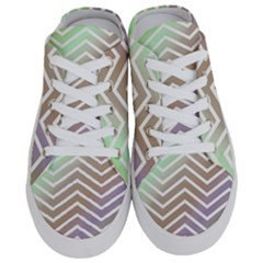 Ombre Zigzag 03 Half Slippers