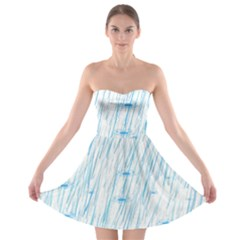 Let It Rain Strapless Bra Top Dress