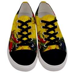 Yellow Chik Men s Low Top Canvas Sneakers