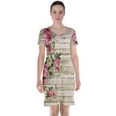 On Wood 2226067 1920 Short Sleeve Nightdress