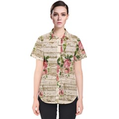 On Wood 2226067 1920 Women s Short Sleeve Shirt