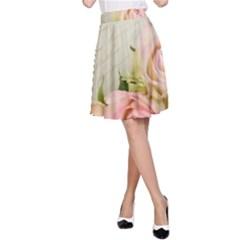 Roses 2218680 960 720 A Line Skirt