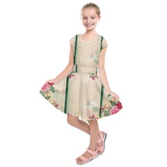 Roses 1944106 960 720 Kids  Short Sleeve Dress