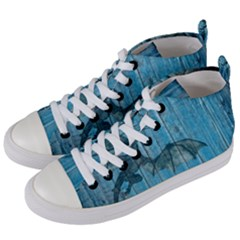 Dragon 2523420 1920 Women s Mid Top Canvas Sneakers by vintage2030