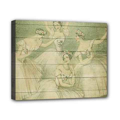 Ballet 2523406 1920 Canvas 10  X 8  (stretched) by vintage2030