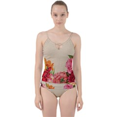 Flower 1646035 1920 Cut Out Top Tankini Set