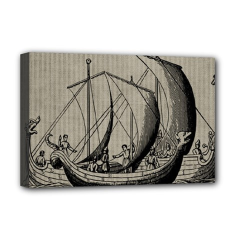 Ship 1515875 1280 Deluxe Canvas 18  X 12  (stretched)