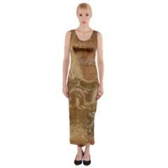 Background 1660940 1920 Fitted Maxi Dress