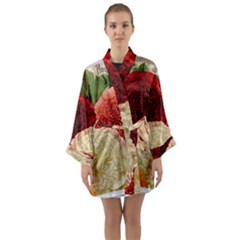 Flowers 1776584 1920 Long Sleeve Kimono Robe