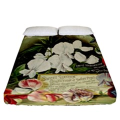 Flowers 1776617 1920 Fitted Sheet (california King Size)