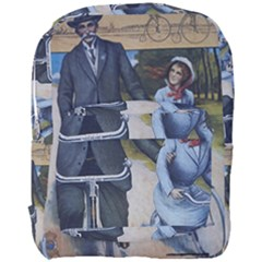 Couple On Bicycle Full Print Backpack