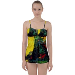 Yellow Chik 2 Babydoll Tankini Set